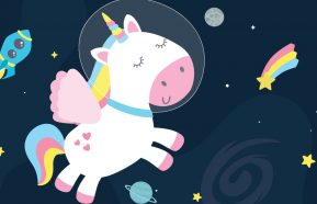 Image for Will Space Unicorns Make Your Child Happy?