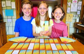 Image for Vancouver siblings invent bookmark that gives back