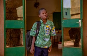 Image for Meet Kader, Burkina Faso's top visually impaired student and a President's Prize winner