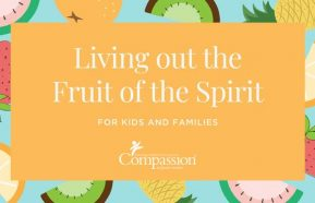 Image for Living Out the Fruit of the Spirit: A devotional for kids and families