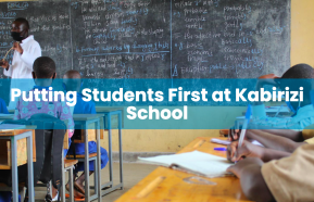 Image for Putting Students First at Kabirizi School